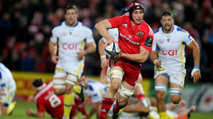 Munster 9 Clermont Auvergne 16, Thomond Park, Saturday, December 6, 2014