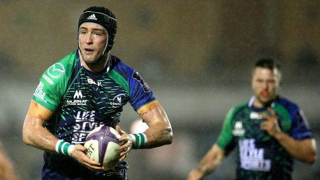 McSharry Voted Connacht Player Of The Month