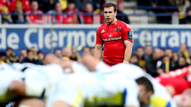 Much-Changed Munster Side Selected For Glasgow Trip