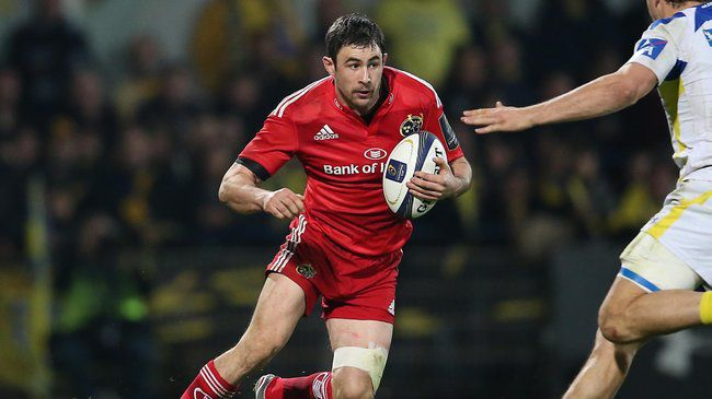 Jones Takes On Captaincy Role For Munster