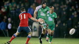 Connacht 24 Munster 16, The Sportsground, Thursday, January 1, 2015