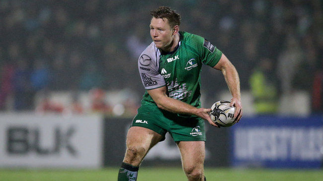McCartney Named Connacht's Player Of The Month