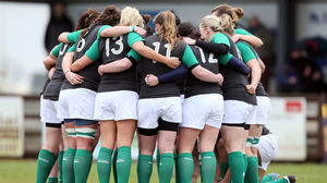 Ireland Women 31 Wales Women 12, Ashbourne RFC, Sunday, January 25, 2015