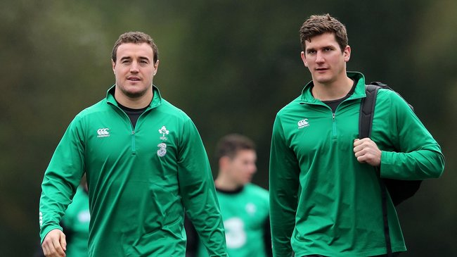 Ireland Squad Training At Carton House, Tuesday, January 27, 2015