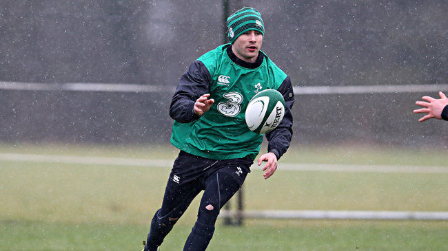 Irish Rugby TV: Ireland Wolfhounds Captain Felix Jones