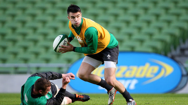 Conor Murray training at the Aviva Stadium