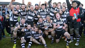 Bangor 5 Dundalk 55, Chambers Park, Portadown RFC, Saturday, January 31, 2015