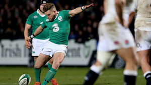 Ireland Wolfhounds 9 England Saxons 18, Irish Independent Park, Friday, January 30, 2015