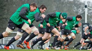 Ireland Squad Training At Carton House, Tuesday, February 3, 2015