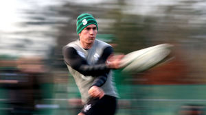 Ireland Squad Training At Carton House, Thursday, February 5, 2015