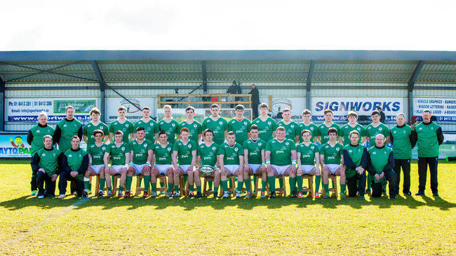 Ireland U-18 Clubs Squad All Set For Festival Opener