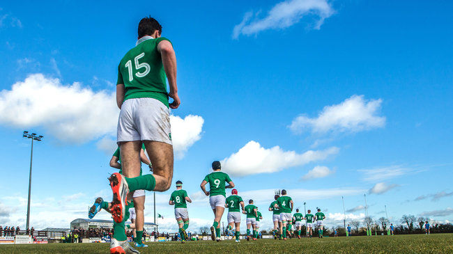 Ireland U-18 Clubs Team Announced For Clash With England U-18 Counties