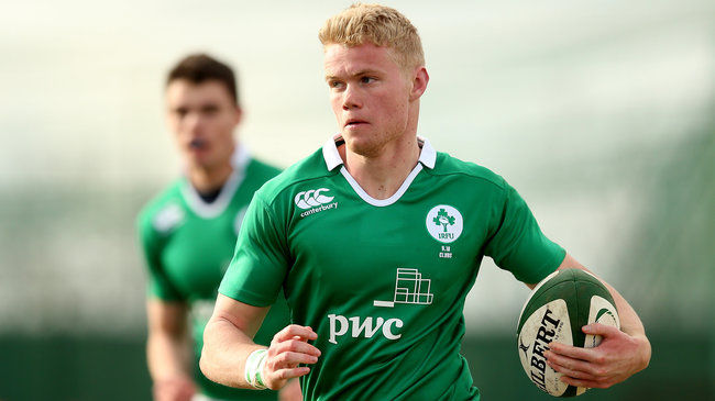 Otto Gray will start for Ireland on the left wing