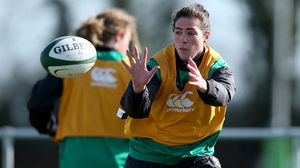 Ireland Women's Captain's Run Session At Ashbourne RFC, Thursday, February 26, 2015