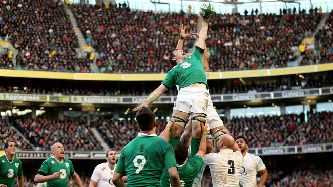 Head-To-Head: Ireland v England