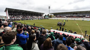 Ireland Open Training Session At Kingspan Stadium, Thursday, March 5, 2015