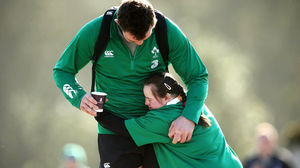 Ireland Squad Training At Carton House, Tuesday, March 10, 2015