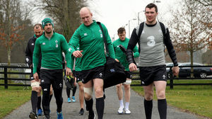 Ireland Squad Training At Carton House, Tuesday, March 17, 2015