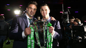Ireland Post-Match Celebrations & RBS 6 Nations Trophy Presentation, BT Murrayfield, Saturday, March 21, 2015