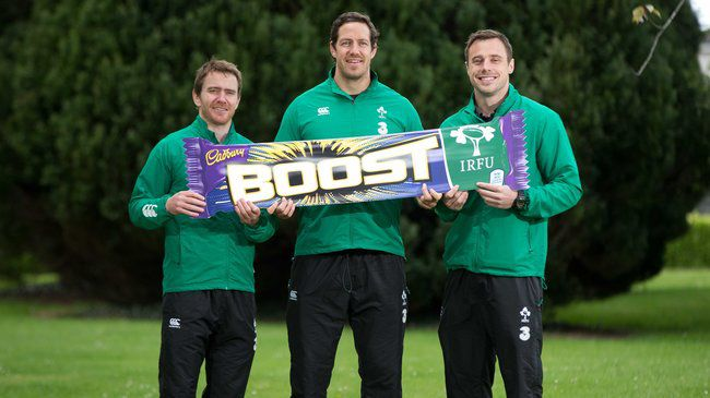 Cadbury And BWG Foods 'Boost' Their Passion For Irish Rugby