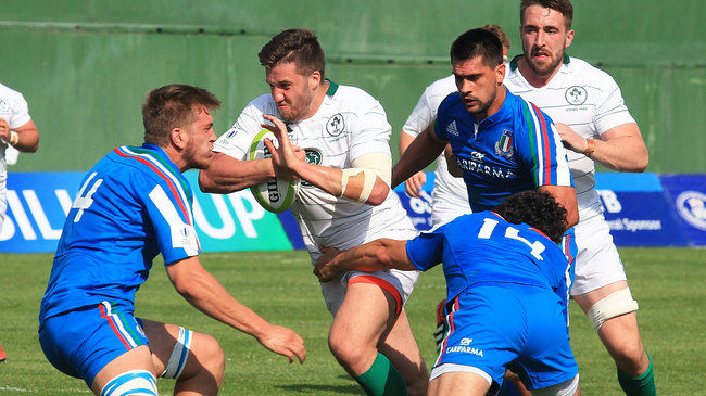 Match Video: Emerging Ireland 25 Emerging Italy 0