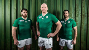 Ireland Rugby World Cup Jersey Launch, Radisson Blu Hotel, Galway, Tuesday, July 14, 2015