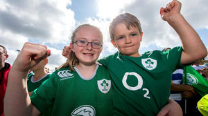 Ireland Open Training Session At The Sportsground, Galway, Tuesday, July 14, 2015