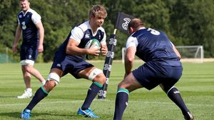 Ireland Squad Training At Carton House, Maynooth, Tuesday, August 4, 2015