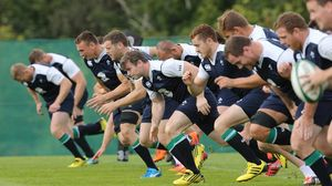 Ireland Squad Training At Carton House, Maynooth, Thursday, August 6, 2015