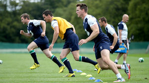 Ireland Squad Training At Carton House, Maynooth, Tuesday, August 11, 2015