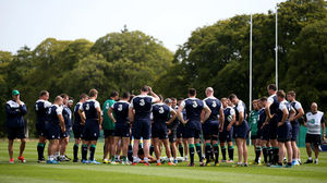 Ireland Squad Training At Carton House, Maynooth, Thursday, August 13, 2015