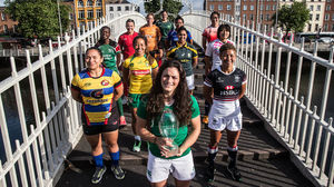 Women's Sevens Dublin Tournament - Captains' Photocall, Ha'penny Bridge, Dublin, Thursday, August 20, 2015