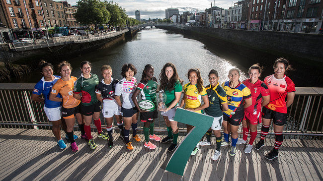 In Pics: Women's Sevens Dublin Captains' Photocall