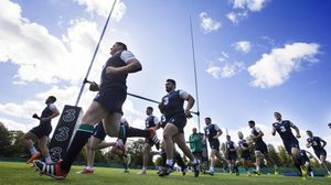 Ireland Squad Training At Carton House, Maynooth, Thursday, August 27, 2015
