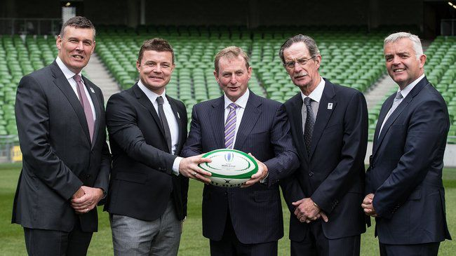 Governments Reaffirm Support For Ireland RWC 2023 Bid