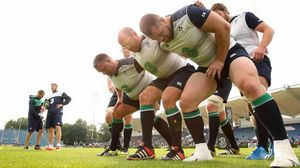 Ireland Open Training Session At The RDS, Dublin, Tuesday, September 8, 2015