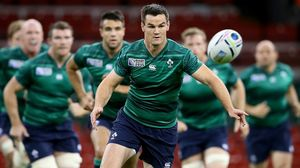 Ireland Captain's Run At Millennium Stadium, Cardiff, Friday, September 18, 2015