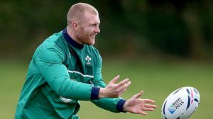 Ireland Squad Training At St. George's Park, Burton On Trent, Monday, September 21, 2015