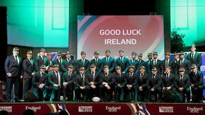 Ireland's Rugby World Cup Welcome Ceremony, Burton Town Hall, Burton On Trent, Monday, September 21, 2015