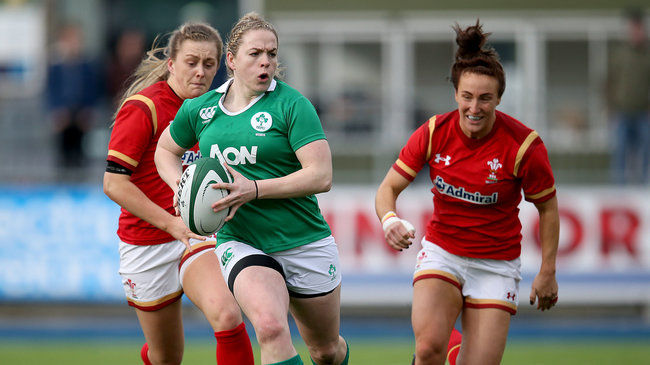 Irish Rugby TV: Niamh Briggs Talks About Her Sevens Experience So Far