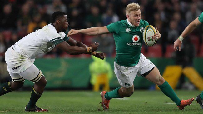 Irish Rugby TV: Stuart Olding - Post-Match Reaction