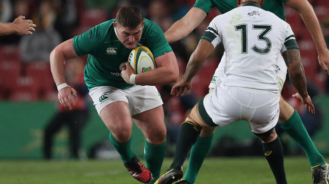 Irish Rugby TV: Tadhg Furlong - Post-Match Reaction