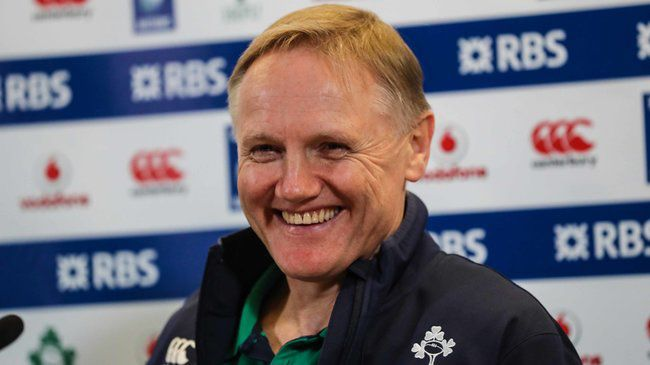 Audio: Joe Schmidt On The Coaches Joining The Summer Tour