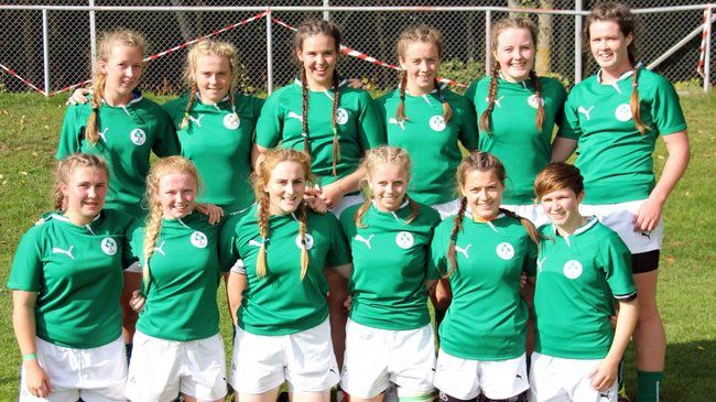 Ireland U-18 Girls Win Plate Title At Europeans Sevens