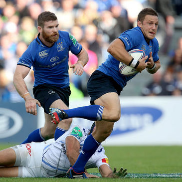 Leinster out-half Jimmy Gopperth