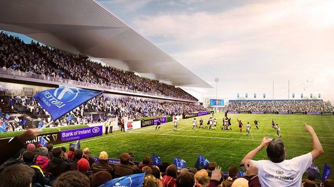 Leinster Reveal Winners Of RDS Redevelopment Competition