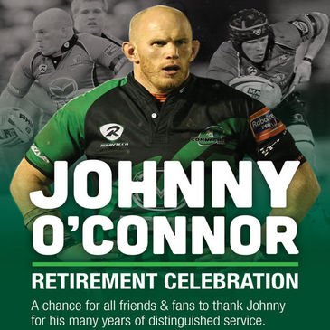 A night to celebrate Johnny O'Connor's contribution to Connacht and Irish rugby