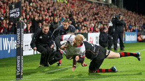 Ulster 23 Newport Gwent Dragons 6, Kingspan Stadium, Saturday, November 1, 2014