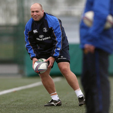 Leinster and Ireland hooker Richardt Strauss