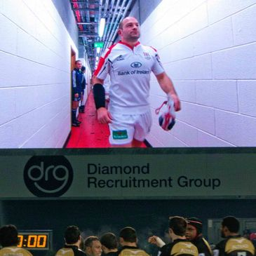 Ulster hooker Rory Best on the big screen